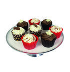 Enamel Finish Presentation Cake Stand