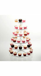6 Tier Cupcake Stand - Clear Acrylic