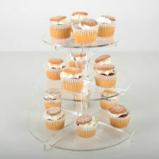 3 Tier Clear Cupcake Stand