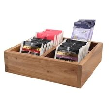 Acacia Wood Catering Display Box