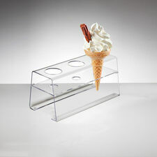 Acrylic Ice Cream Cone Holder