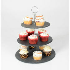 3 Tier Slate Afternoon Tea Cake Stand