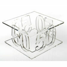 50th Birthday Celebration Cake Stand