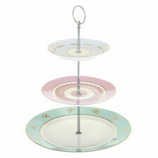 Bombay Duck Hotchpotch Vintage 3 Tier Cake Stand