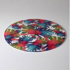 Tropical Paradise Design Cake Plate