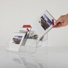 Greeting Card Clear Acrylic Display Stand