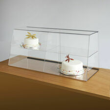 Clear Acrylic Counter Food Display Cabinet
