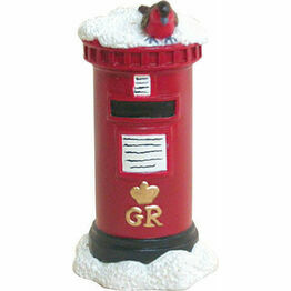 Christmas Postbox Figurine F305