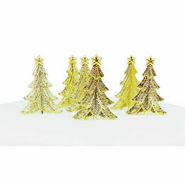 Christmas Gold Festive Tree Picks F373