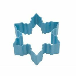 Cookie Cutter Snowflake Blue