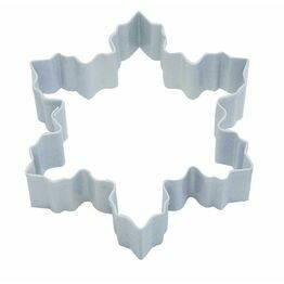 Cookie Cutter Snowflake White Large 10cm