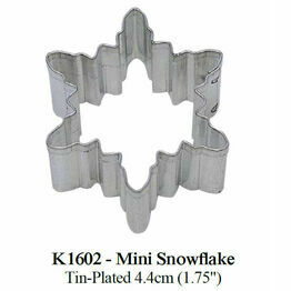 Cookie Cutter Mini Snowflake 4.4cm K1602