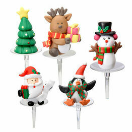 Christmas Figurines Clay Dough - assorted designs