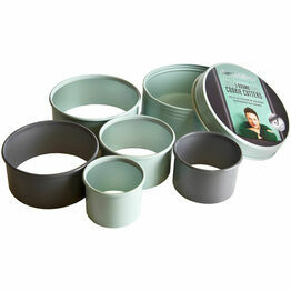 Jamie Oliver Round Cookie Cutters - Set of 5 JB3800