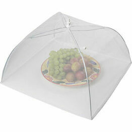 Kitchen Craft White Umbrella Food Cover