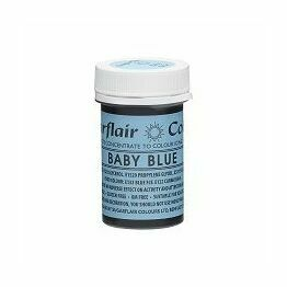 Sugarflair Spectral Colour Paste - Baby Blue
