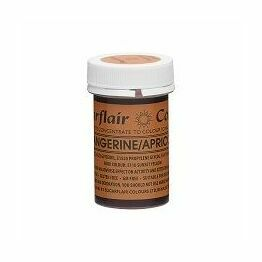 Sugarflair Spectral Colour Paste - Tangerine/Apricot