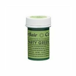 Sugarflair Spectral Colour Paste - Party Green