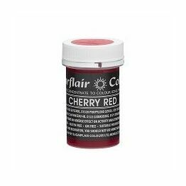 Sugarflair Spectral Colour Paste - Pastel Cherry Red
