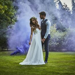 Purple Wedding Smoke Bomb