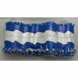 Cake Frill Blue - Sold by the Metre