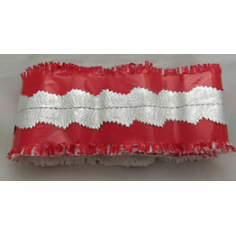 Cake Frill Red/Pink - Sold by the Metre