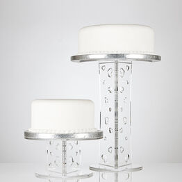 Olivia Round Single Tier Cake Stand - 500mm