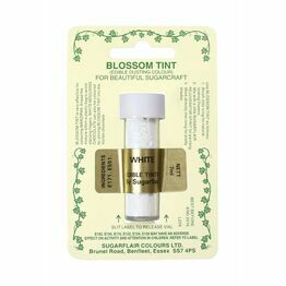 Sugarflair Blossom Tint Dusting Colours - White