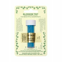 Sugarflair Blossom Tint Dusting Colours - Ice Blue