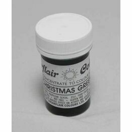 Sugarflair Tartranil Paste Colour Xmas Green