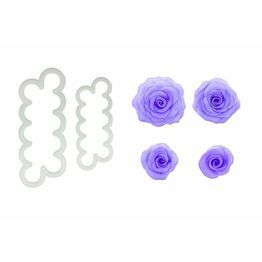 FMM Easiest Ever Rose Cutter Set of 2