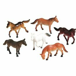 Cake Topper Mini Assorted Horses pack of 8