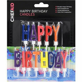 Cake Candles Happy Birthday 10E11483