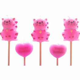Party Cats Cake Candles (5)