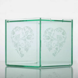 Engravable Acrylic Sweet Cubes - 100mm