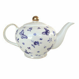 Bombay Duck Miss Peacock Teapot