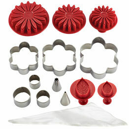 Cake Boss Flower Girls Cake Decorating Kit
