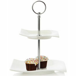 Maxwell & Williams Motion 2 Tier Cakestand