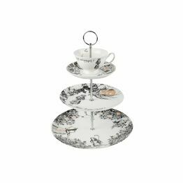 Victoria And Albert Alice In Wonderland 3 Tier Cake Stand