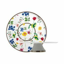 Maxwell & Williams Tea's & C's Contessa 30cm Footed Cake Stand White
