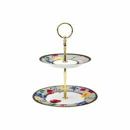 Maxwell & Williams Tea's & C's Contessa 2 Tier Cake Stand White