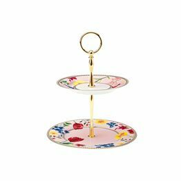Maxwell & Williams Tea's & C's Contessa 2 Tier Cake Stand Rose
