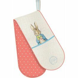 Double Oven Glove Peter Rabbit