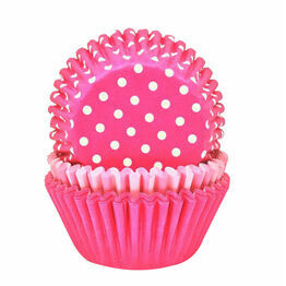Cupcake Cases (75) Perfectly Pink Mix