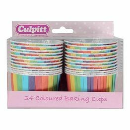 Baking Cups (24) Rainbow