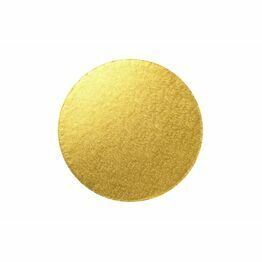Cake Board 3mm Round Gold