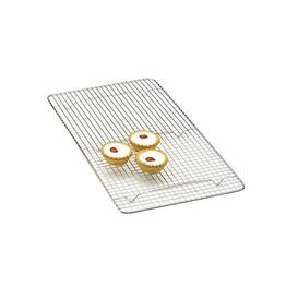 KitchenCraft Chrome Plated Oblong Cake Cooling Tray