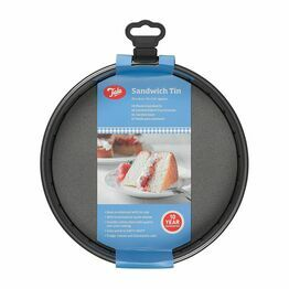 Tala Non Stick Sandwich Tin Loose Base 8inch 20cm