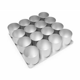 Silverwood Multi Mini Cake Pan Set 16x3in