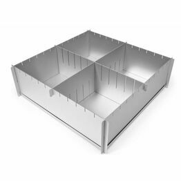 Silverwood Multisize / Adjustable Cake Tin 12x4